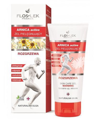 FLOS-LEK ARNICA Active żel rozgrzewający - 200 ml - Apteka internetowa Melissa