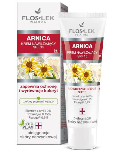 FLOS-LEK ARNICA Nawilżający krem arnikowy SPF15 - 50 ml - Drogeria Melissa