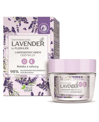 Flos-Lek Lavender Lawendowy krem odżywczy - 50 ml - cena, opinie, stosowanie - Drogeria Melissa