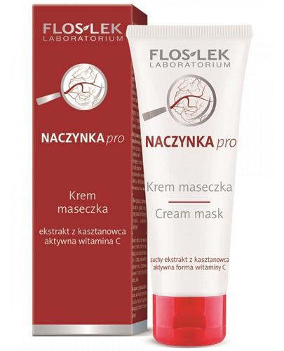 FLOS-LEK Maseczka do skóry z problemami naczynkowymi - 75 ml - Apteka internetowa Melissa