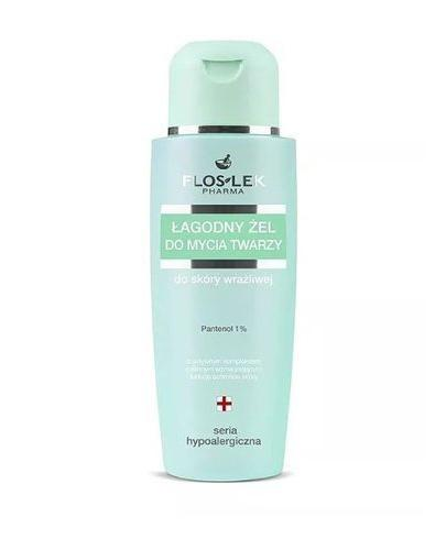 FLOS-LEK SERIA HYPOALERGICZNA Łagodny żel do mycia twarzy - 150 ml - Drogeria Melissa