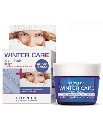 FLOS-LEK WINTER CARE Krem tłusty do cery z problemami naczynkowymi - 50 ml - Apteka internetowa Melissa