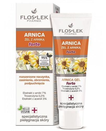 FLOS-LEK ARNICA Żel Arnikowy Forte - 50 ml - Apteka internetowa Melissa