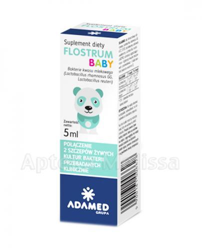 FLOSTRUM BABY Krople probiotyczne - 5 ml