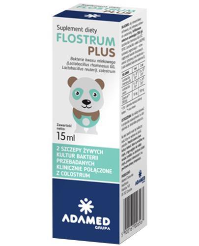 FLOSTRUM PLUS Krople probiotyczne - 15 ml - Apteka internetowa Melissa