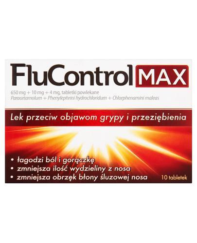 FLUCONTROL MAX - 10 tabl. - Apteka internetowa Melissa