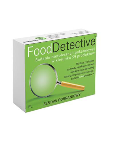 FOOD DETECTIVE Test na nietolerancje pokarmowe - zestaw pobraniowy - 1 szt. - Apteka internetowa Melissa