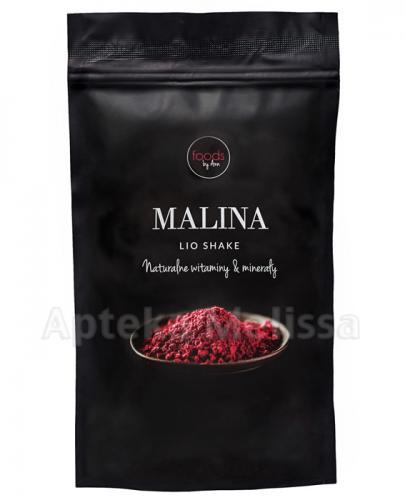 FOODS BY ANN LIO SHAKE Malina - 50 g Data ważności: 2019.01.31 - Apteka internetowa Melissa