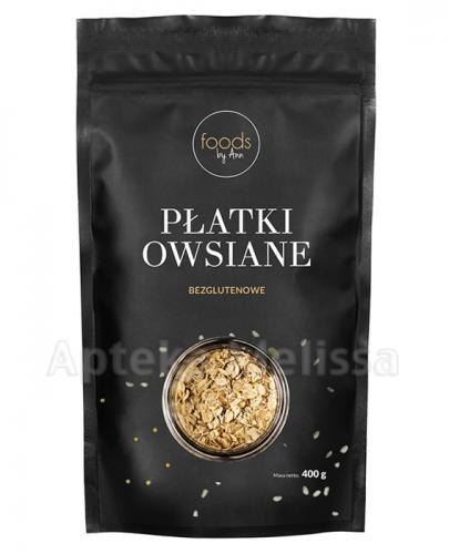 FOODS BY ANN Płatki owsiane - 400 g - Apteka internetowa Melissa