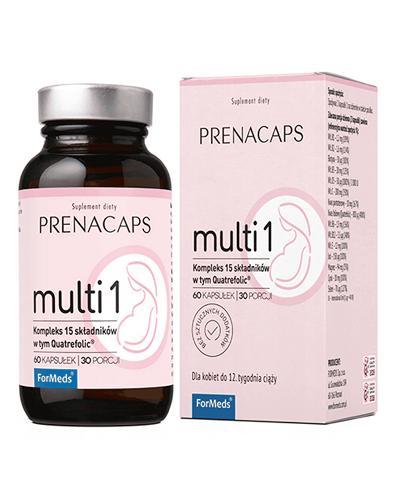 ForMeds Prenacaps multi 1 - 60 kaps. - cena, opinie, właściwości