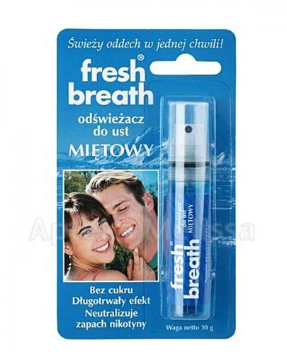 FRESH BREATH Odświeżacz do ust miętowy - 10 g