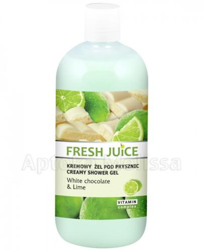 FRESH JUICE Kremowy żel pod prysznic White chocolate & Lime - 500 ml - Apteka internetowa Melissa
