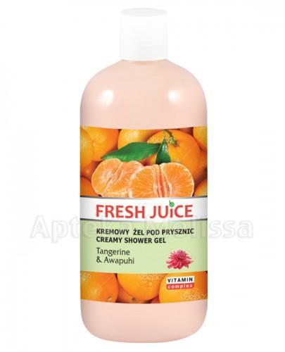 FRESH JUICE Kremowy żel pod prysznic Tangerine & Awpuhi - 500 ml - Apteka internetowa Melissa