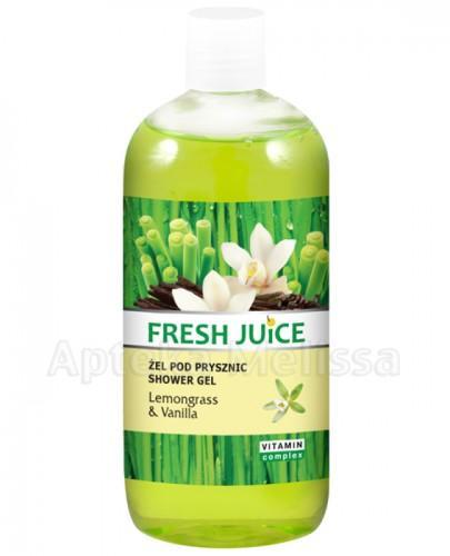 FRESH JUICE Żel pod prysznic Lemongrass & Vanilla - 500 ml - Apteka internetowa Melissa