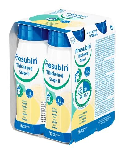 Fresubin Thickened Stage 2 o smaku waniliowym - 4 x 200 ml - cena, opinie, skład  - Apteka internetowa Melissa