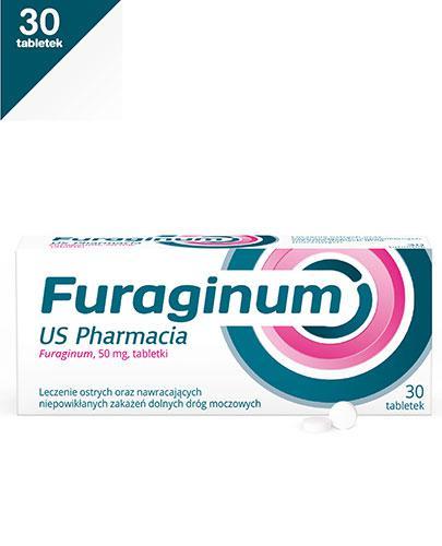 FURAGINUM US PHARMACIA - 30 tabl. Na ostre i nawracające zakażenia dolnych dróg moczowych. - Apteka internetowa Melissa