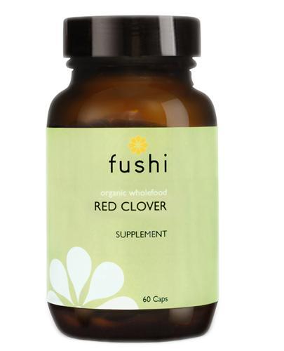 FUSHI Red Clover (Koniczyna czerwona) BIO - 60 kaps. - Apteka internetowa Melissa