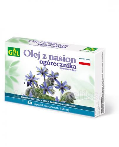 GAL Olej z nasion ogórecznika - 60 kaps. - Apteka internetowa Melissa