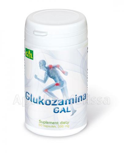 GAL Glukozamina - 60 kaps. - Apteka internetowa Melissa