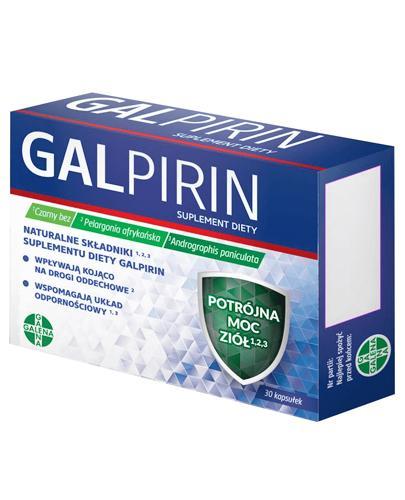 Galpirin - 30 kaps. - cena, opinie, dawkowanie - Apteka internetowa Melissa