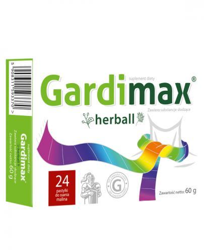 GARDIMAX HERBALL - 24 past. - Apteka internetowa Melissa