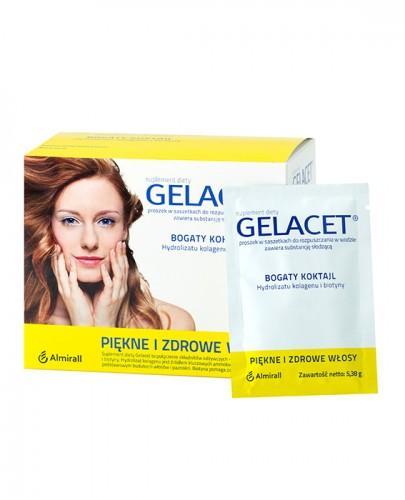 GELACET - 21 sasz. Piękne i zdrowe włosy - cena, opinie, wskazania - Drogeria Melissa