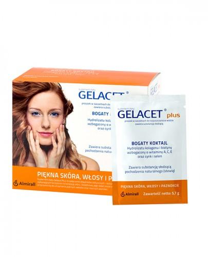 GELACET PLUS - 21 sasz. Piękna skóra, włosy i paznokcie - cena, opinie, właściwości