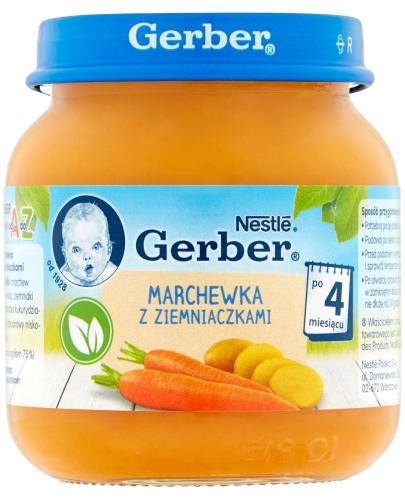 GERBER Marchewka z ziemniaczkami po 4 m-cu - 125 g - Apteka internetowa Melissa