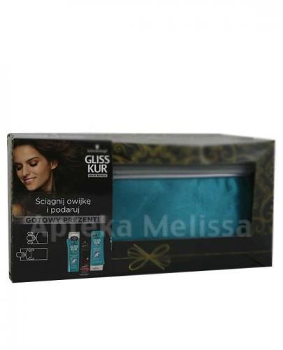GLISS KUR Million Gloss Szampon - 250 ml + Odżywka - 200 ml + Taft lakier - 250 ml + Kosmetyczka - Apteka internetowa Melissa