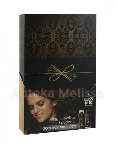 GLISS KUR Ultimate Repair Szampon - 250 ml + Odżywka - 200 ml - Apteka internetowa Melissa