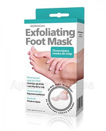 GLYSKINCARE EXFOLIATING FOOT MASK Złuszczająca maska do stóp  - 1 para - Apteka internetowa Melissa