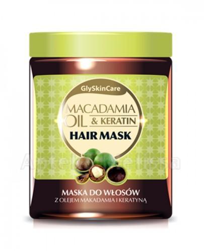 GLYSKINCARE MACADAMIA OIL Maska do włosów - 300 ml - Apteka internetowa Melissa