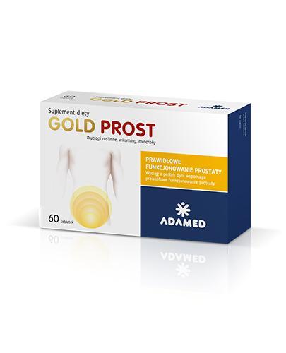 GOLD PROST - 60 tabl. Dla zdrowia prostaty.