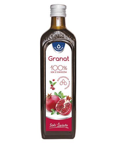 GRANVITAL Sok z owoców granatu - 490 ml - Drogeria Melissa