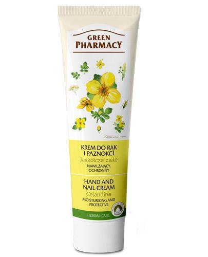 GREEN PHARMACY Krem do rąk i paznokci jaskółcze ziele - 100 ml - Apteka internetowa Melissa