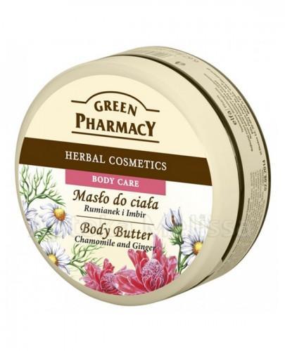 GREEN PHARMACY Masło do ciała rumianek i imbir - 200 ml - Apteka internetowa Melissa