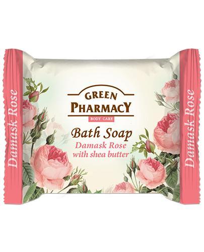 GREEN PHARMACY Mydło w kostce róża damasceńska i maslo shea - 100 g - Apteka internetowa Melissa