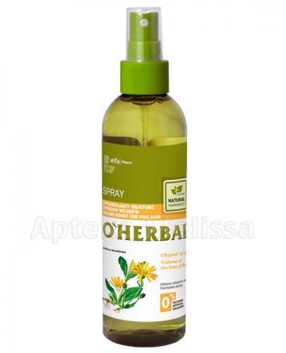 O`HERBAL Spray zwiększający objętość cienkich włosów z ekstraktem z arniki - 200 ml