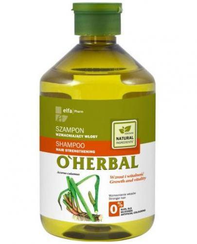 O`HERBAL Szampon wzmacniający włosy z ekstraktem z korzenia tataraku - 500 ml - Apteka internetowa Melissa