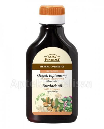 GREEN PHARMACY Olejek łopianowy z olejem arganowym - 100 ml - Apteka internetowa Melissa