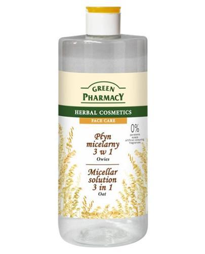 GREEN PHARMACY Płyn micelarny 3w1 owies - 500 ml - Apteka internetowa Melissa