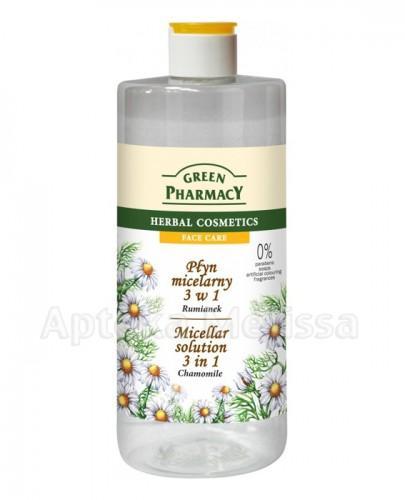 GREEN PHARMACY Płyn micelarny 3w1 rumianek - 500 ml - Apteka internetowa Melissa
