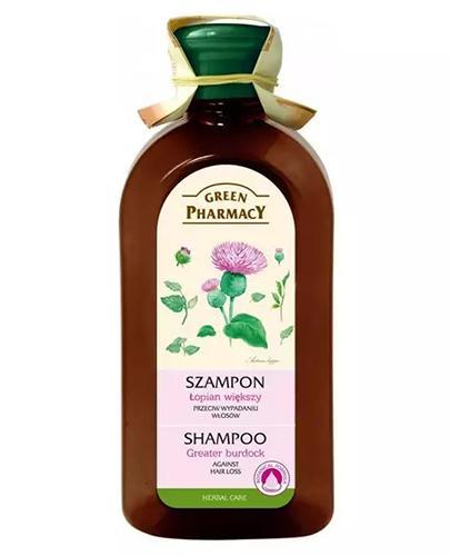 GREEN PHARMACY Szampon przeciw wypadaniu włosów łopian większy - 350 ml - Apteka internetowa Melissa