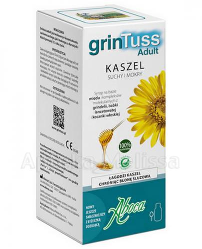 GRINTUSS ADULT Syrop na kaszel suchy i mokry - 210 g