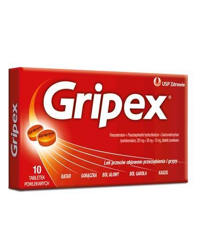 GRIPEX - 10 tabl. - Apteka internetowa Melissa