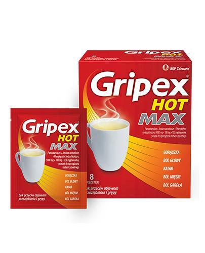 GRIPEX HOT MAX - 8 sasz.