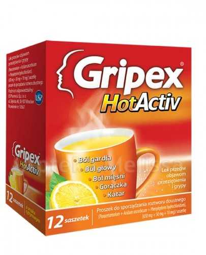GRIPEX HOTACTIV - 12 sasz.