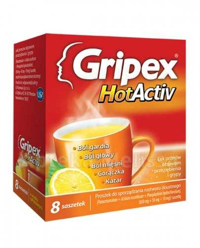 GRIPEX HOTACTIV - 8 sasz.