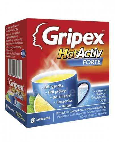 GRIPEX HOTACTIV FORTE - 8 sasz.