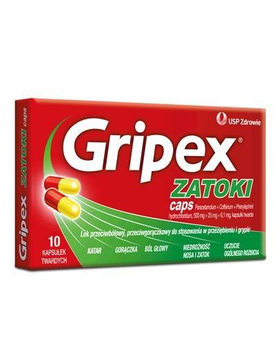 GRIPEX ZATOKI CAPS - 10 kaps.